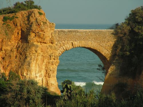 Beach arch in Lagos, Portugal